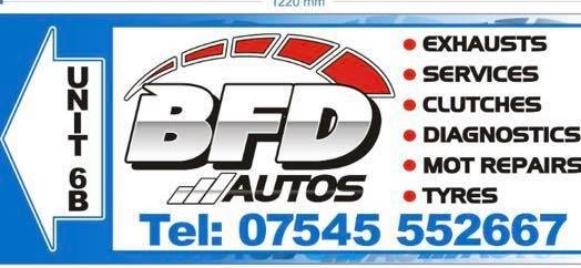 BFD Autos BFD Autos - Vehicle Servicing, Repairs and More based in Broxburn