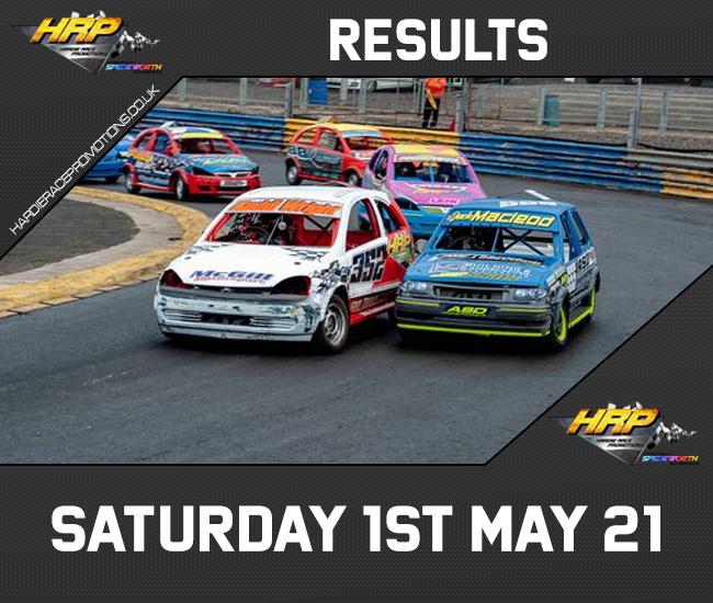 Saturday 1st May Results
