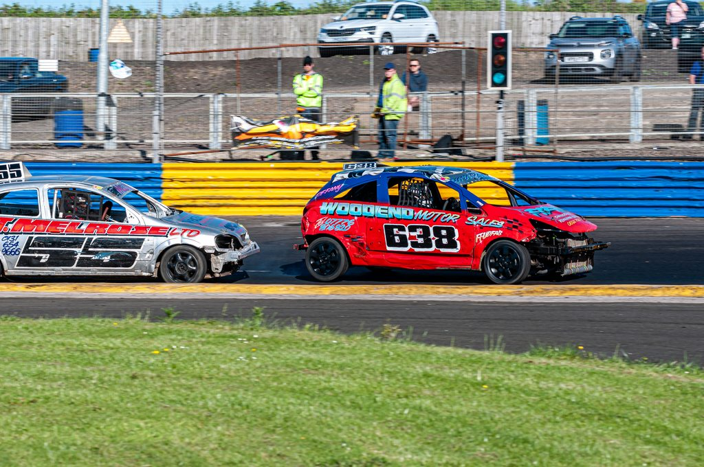 Ministox Feature at Lochgelly Raceway