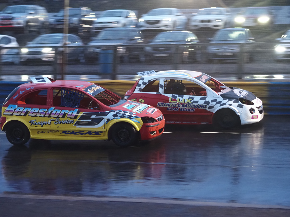 Ford At The Double In 1300 Stock Cars