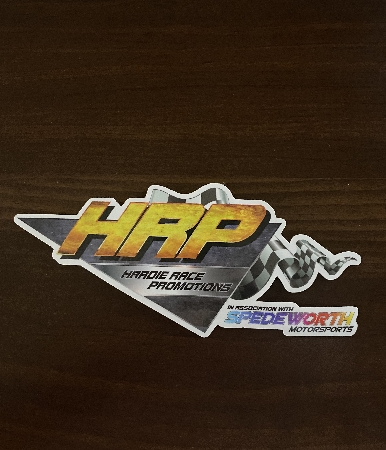 A Hardie Race Promotions sticker!<br />